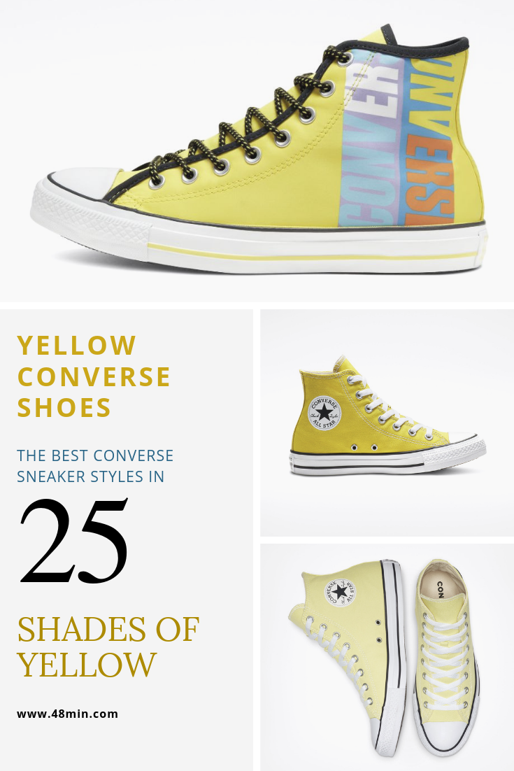 Yellow Converse Shoes: The best