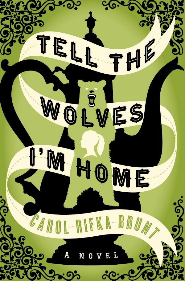 """""""Tell the wolves I'm home"""" by Carol Rifka Brunt.  2013 Alex Award for the 10 best adult books that appeal to teen audiences."""