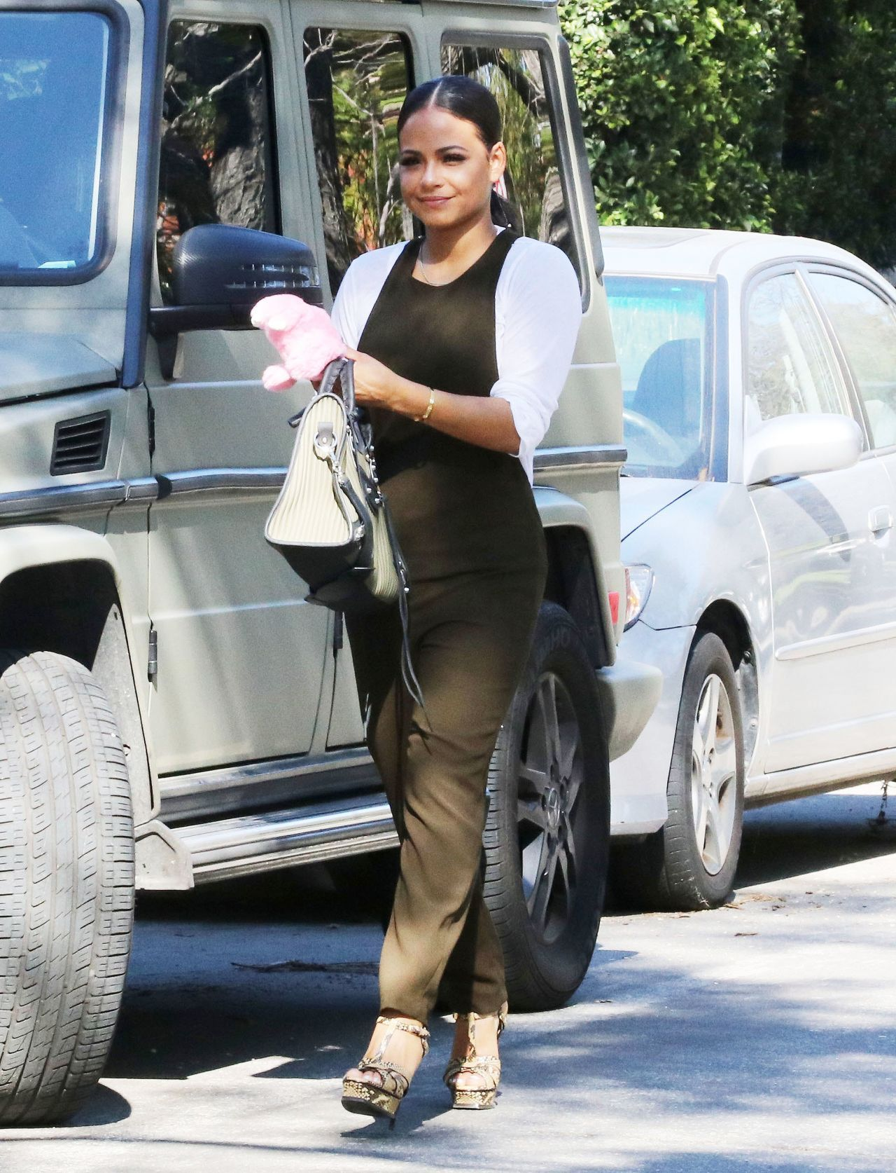 Christina Milian #ChristinaMilian Street Style Out in West ...