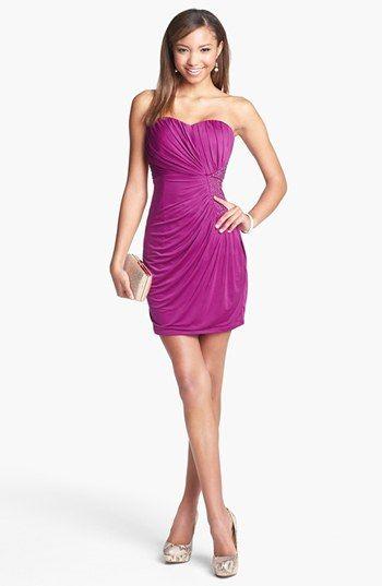 Rasperry Embellished Semi Formal Dress3 Get 5 Cash Back Http