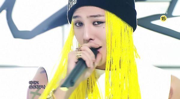 "GD Jiyong G-DRAGON ""Inkigayo"" ""OOAK"" 16/9/2012"