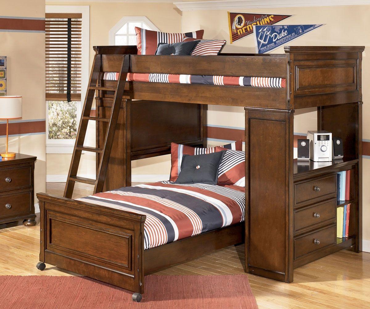 Ashley Furniture Bunk Beds With Desk Ideal Bedroom Pinterest