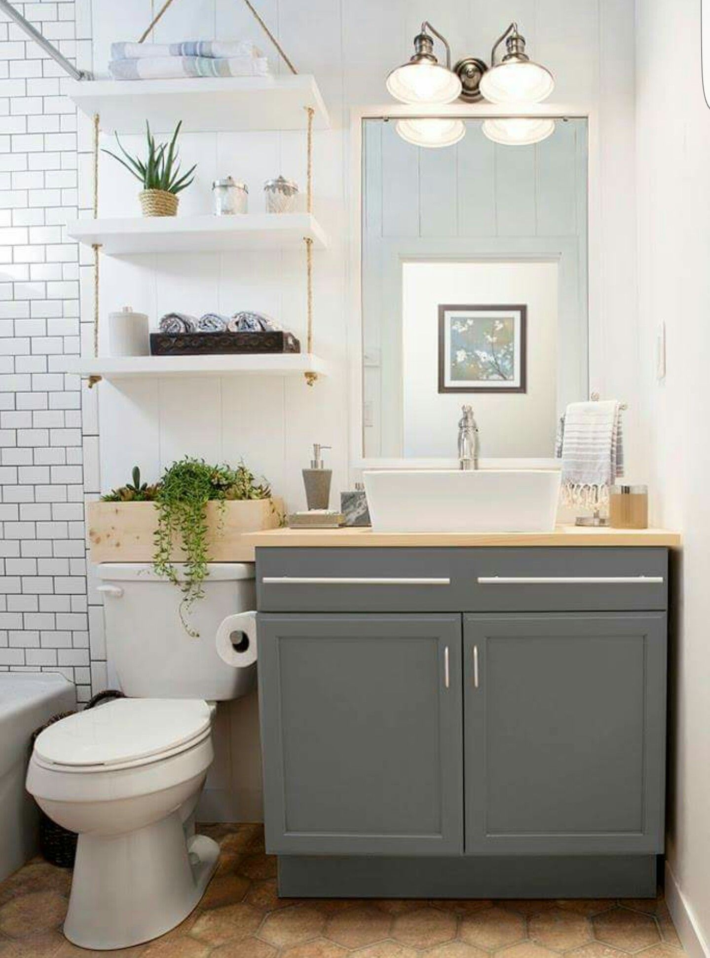 Love The Shelf Over The Toilet Bathroom Design Small Bathroom Storage Over Toilet Small Bathroom Remodel