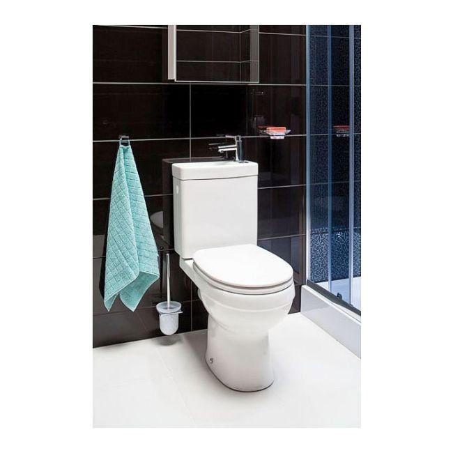 Kompakt Wc Cooke Lewis Z Umywalka I Bateria Kompakty Wc Wc Wykonczenie Produkty Toilet Bathroom