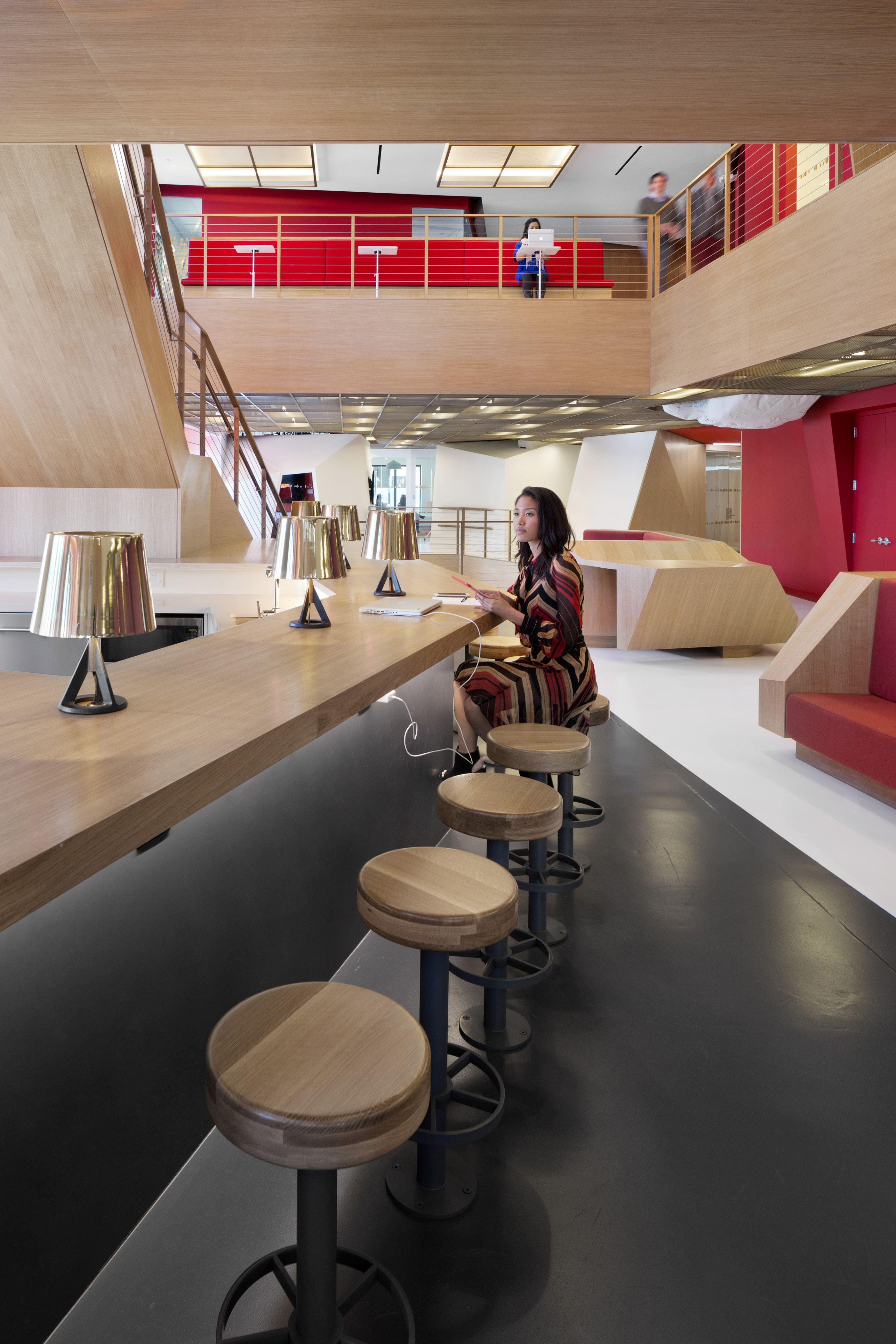 Clive wilkinson architects publicis north american headquarters interior work best interior office interior