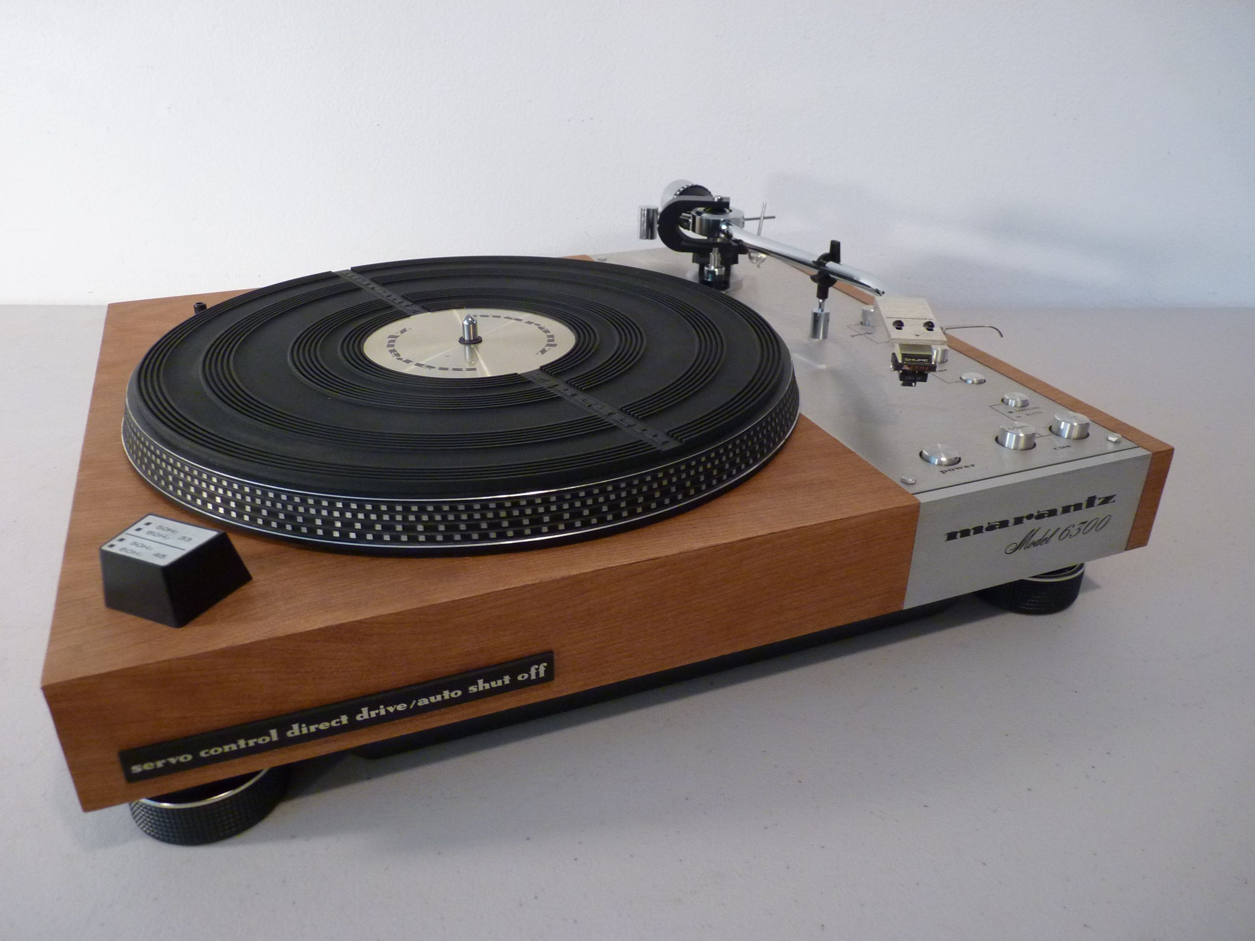 Restored Marantz 6300 turntable