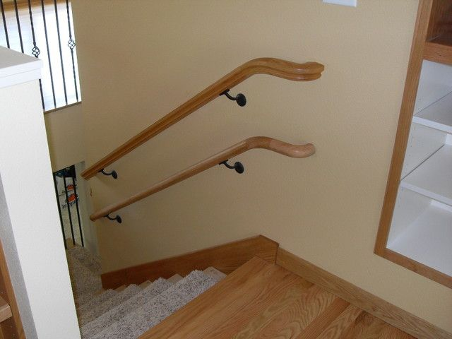 Hardwood Handrail Profiles Are Available In Any Wood Species