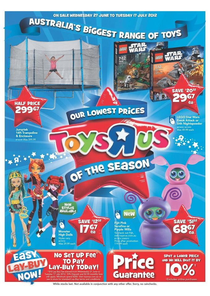 Toys R Us Catalogue Our Lowest Prices Of The Season
