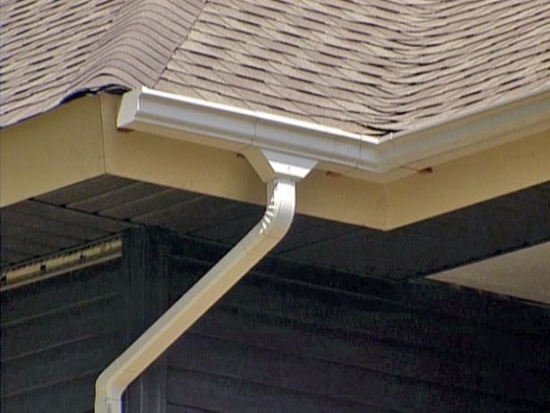 Advice On Gutters And Downspouts Seamless Gutters Home Inspection Roofing