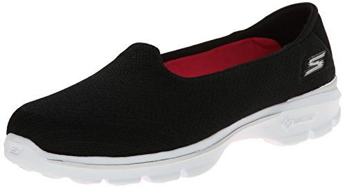 Skechers Performance Womens Go Walk 3 Insight SlipOn Walking Shoe BlackWhite 10 M US * Want to know more, click on the image.
