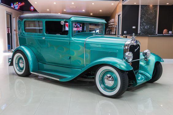 1930 Ford Model A Tudor Sedan Street Rod Ford Models Vintage Cars For Sale Hot Rods Cars