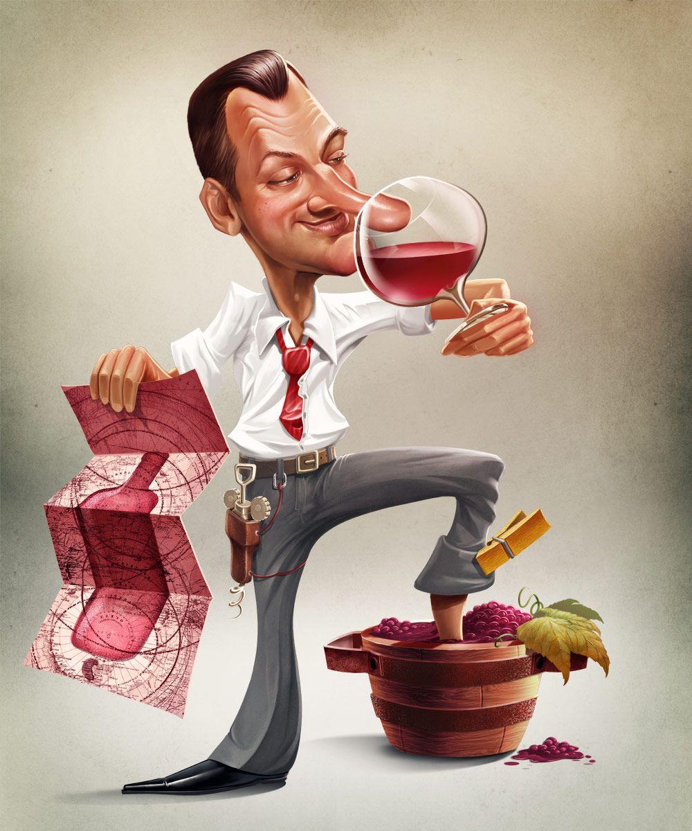 Картинки с бокалом вина прикол