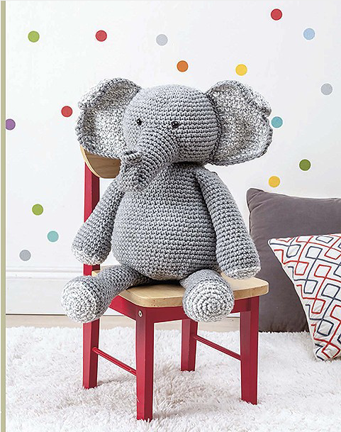 Huggable Amigurumi | babies | Crochet elephant pattern