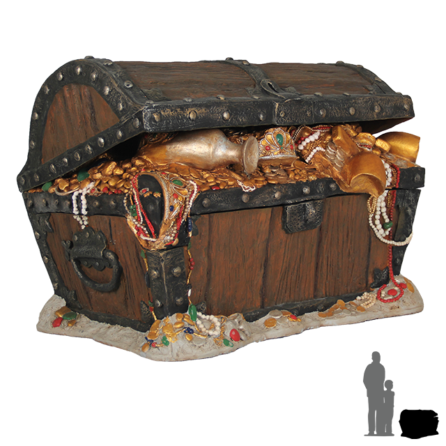 Big-treasure-chest.png (640×640) | Pirates | Pinterest ...