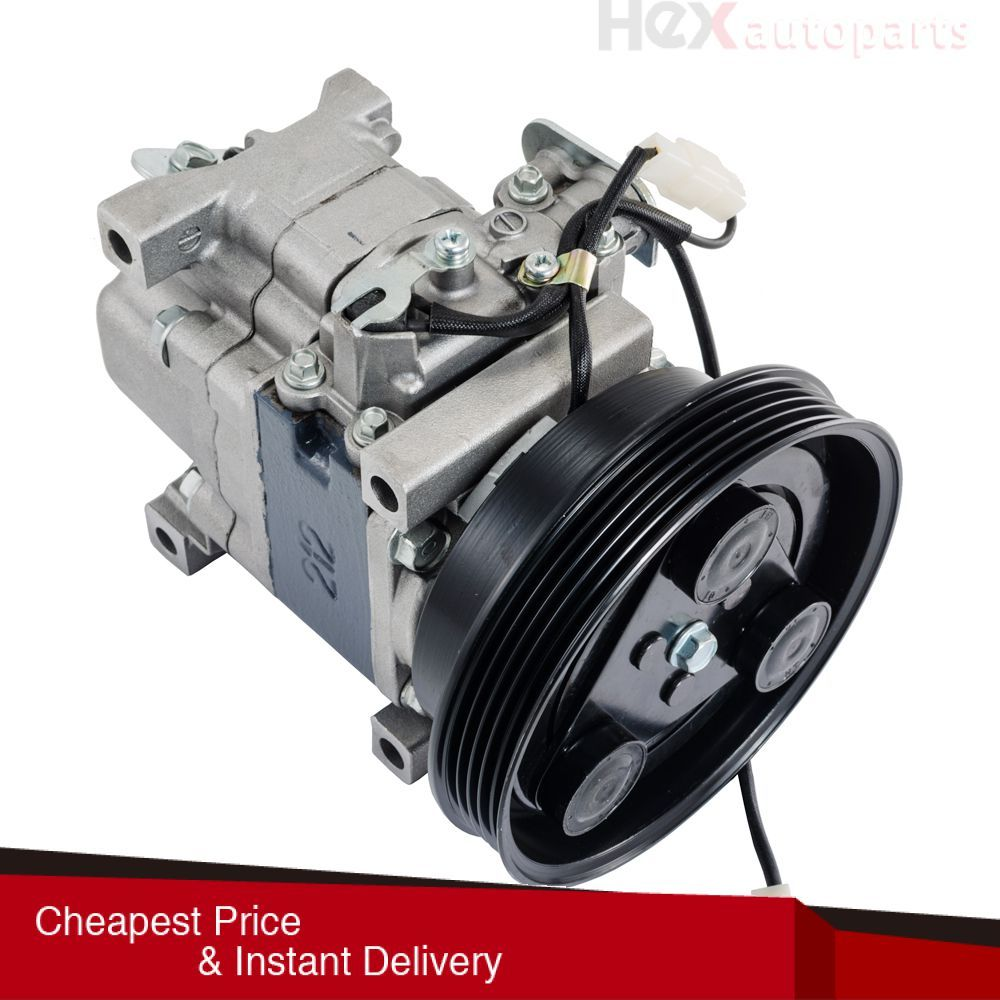 Hex AutoParts- AC A/C Compressor For 2001 2002 2003 Mazda Protege 2.0L