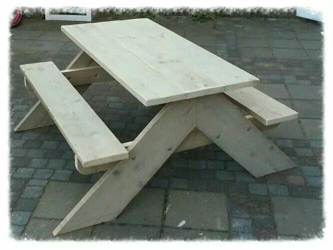 Kinder Picknick Tafel : Stegerhouten kinder picknick tafel weekendhout weekendhout