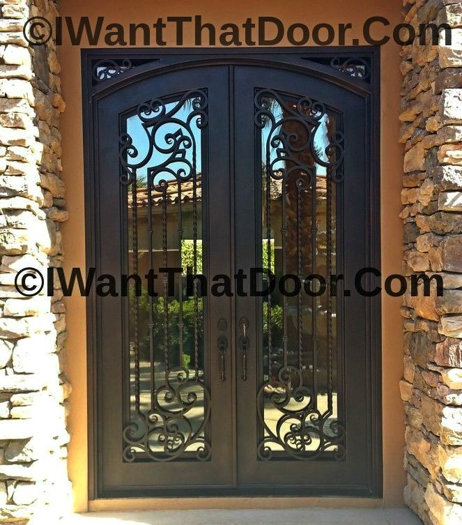 Wrought Iron Tampa Door With Images Wrought Iron Doors