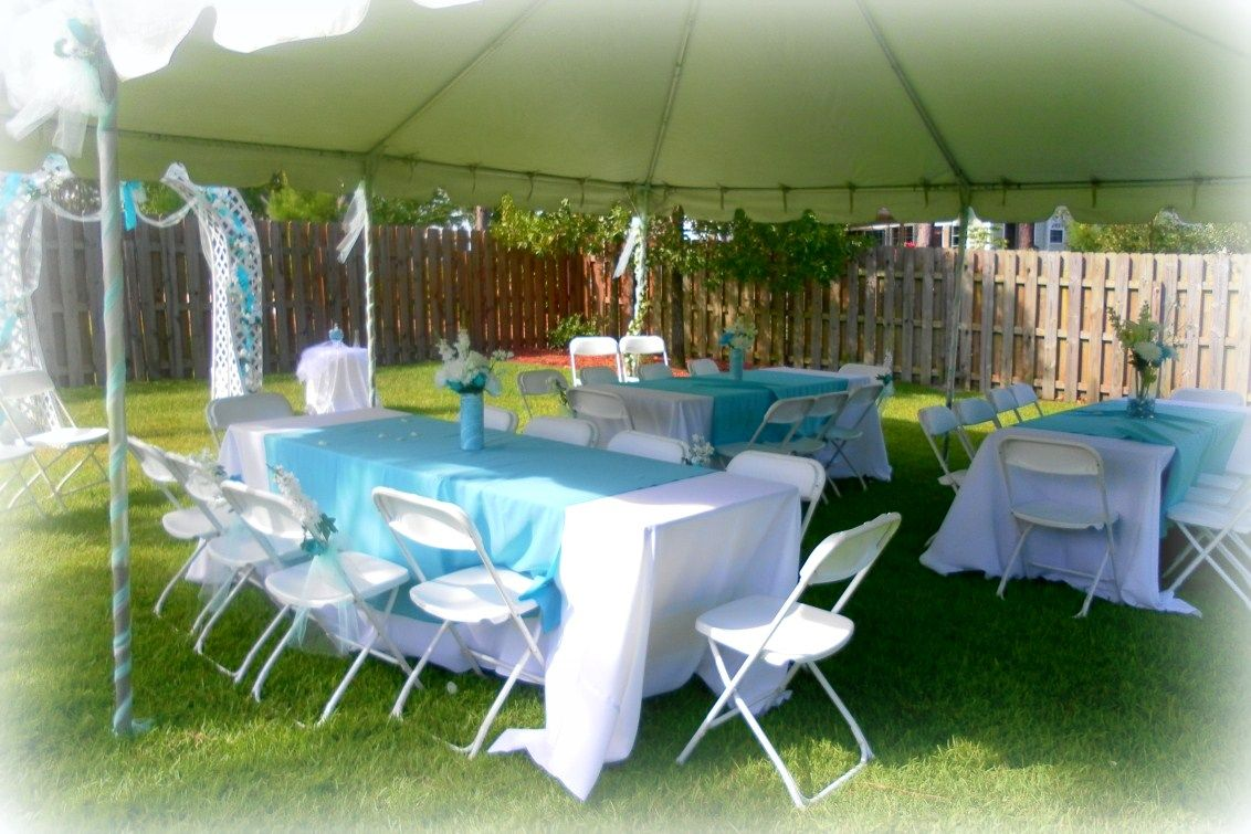 Decorating For A Summer Wedding Cheap backyard wedding
