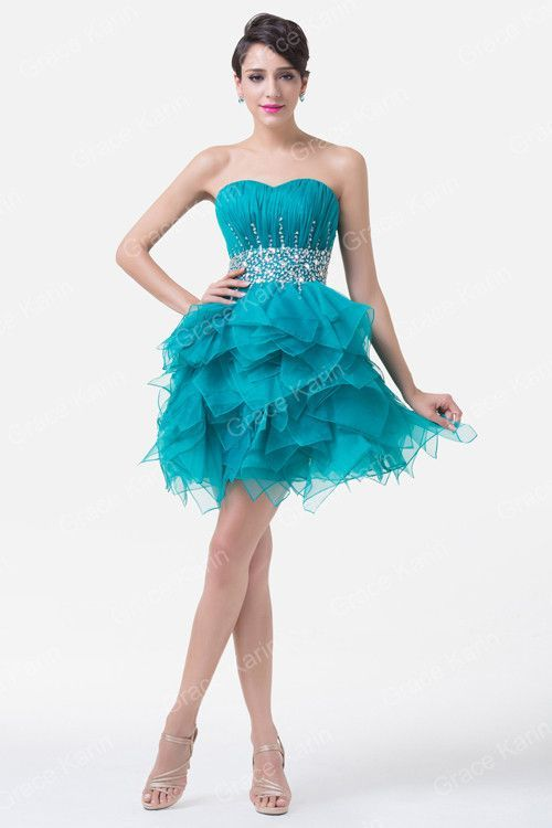 Dark Turquoise Prom Dresses Under 50 Cheap Sequin Prom Dress Short ...