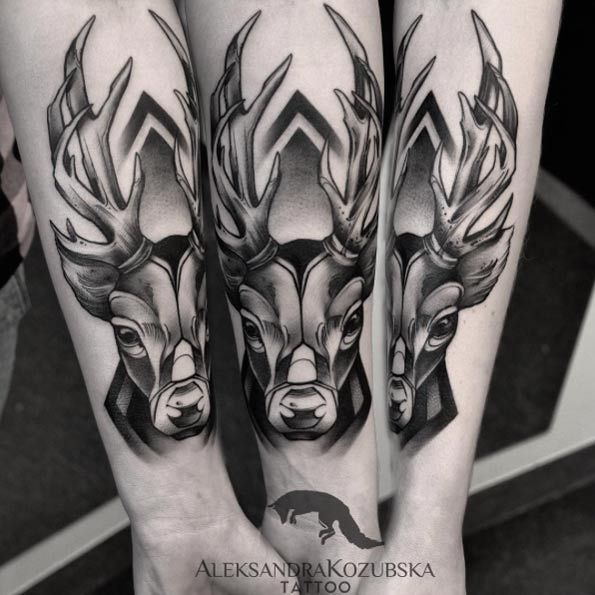 Ideas Tatuajes Animales 45 excellent stag tattoo designs and ideas | tatuajes