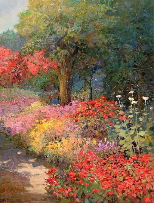 Kent R Wallis Artist Galleries In Carmel California Jones Terwilliger Monet Art Impressionist Paintings Art