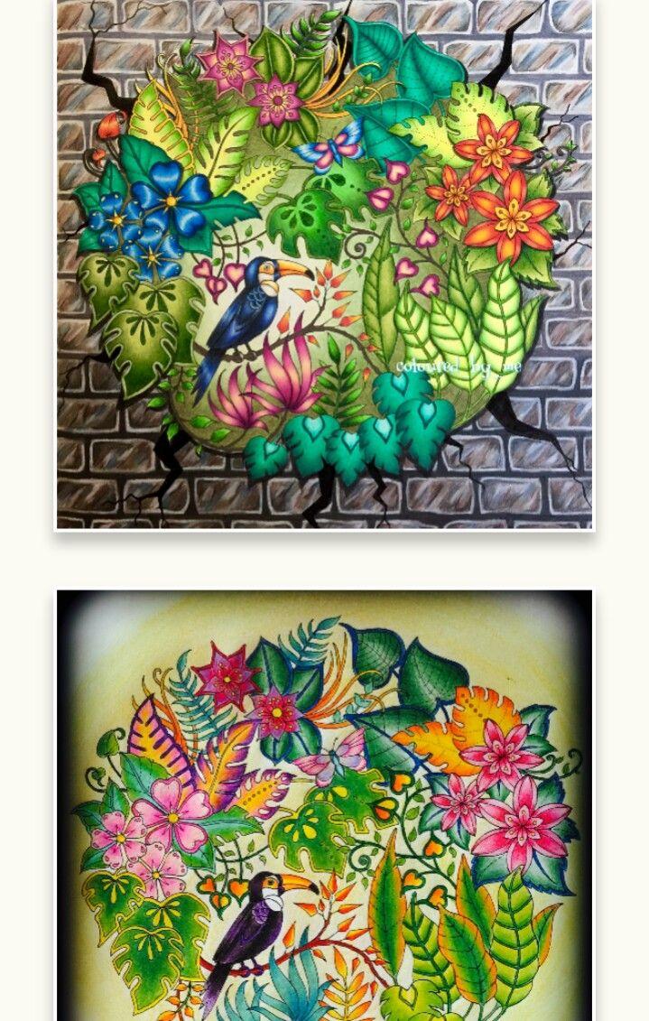 Pin by Лена Чигрин on джунгли | Pinterest | Johanna basford, Adult ...