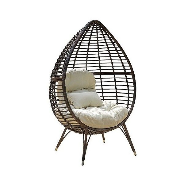 Patio Chair Lounge: Christopher Knight Home Cutter Teardrop Wicker ...