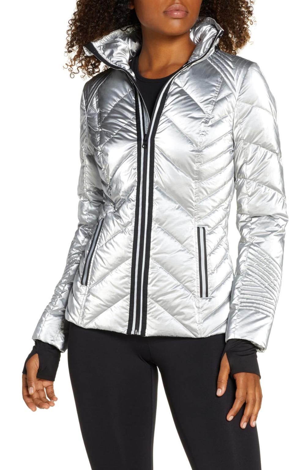 Blanc Noir Reflective Down Puffer Jacket Nordstrom Sporty Jacket Jackets Puffer Jackets [ 1533 x 1000 Pixel ]