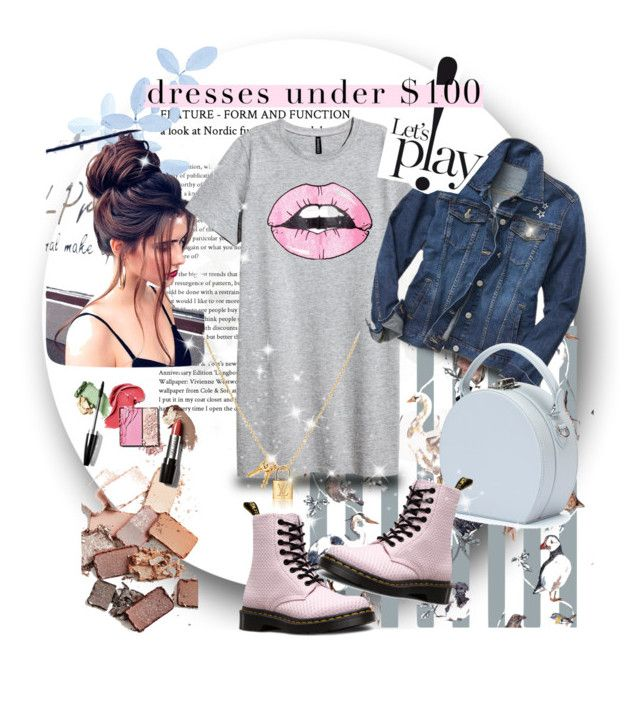 """""""let's play"""" by ane-56 on Polyvore featuring Stila, House of Hackney, Dr. Martens, Gap and Handle"""