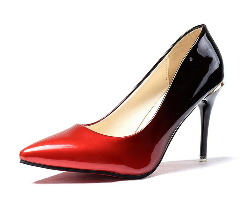 4e9f7f0c7d4 Cheapest MCCKLE Woman High Heels Autumn Sexy Pumps Female Thin Heel Shoes  Gradient Slip On Fashion