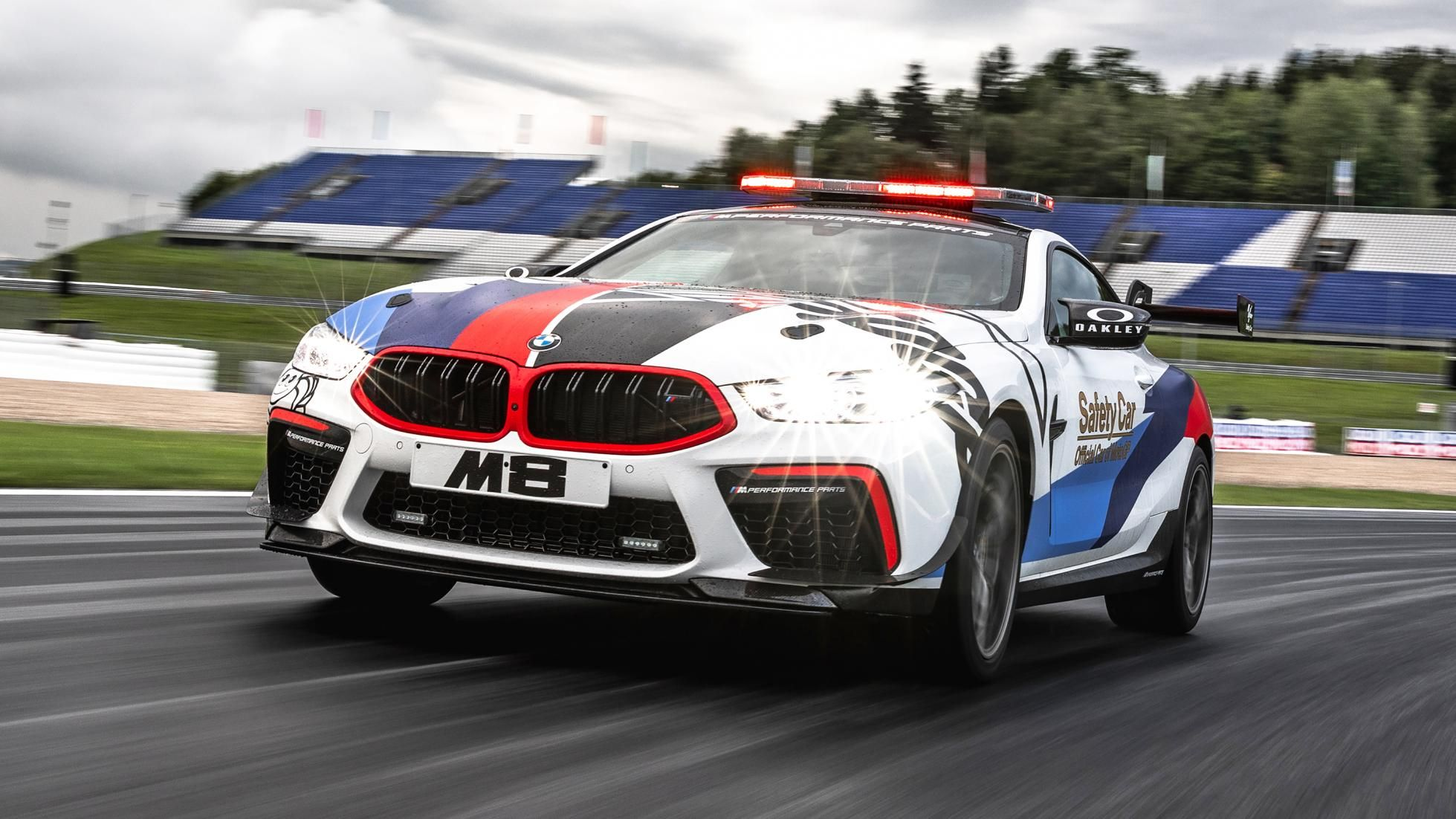 The BMW M8 Competition is MotoGP's 616bhp safety car Bmw