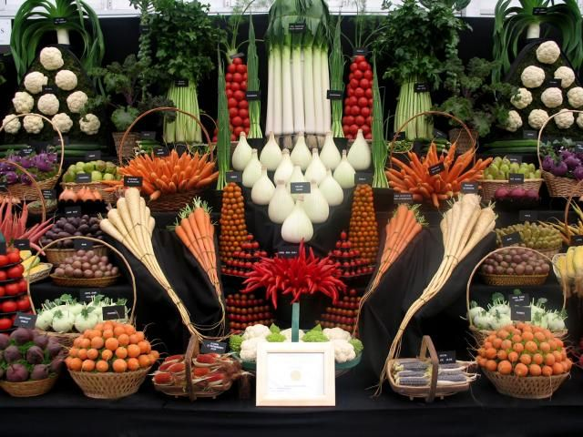 Waterfall Fruit And Veggie Displays: Shop Displays Ideas - Google-haku