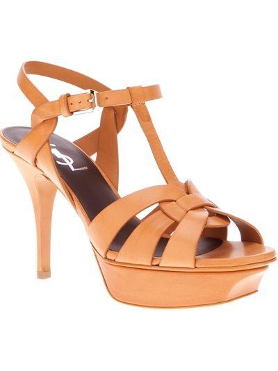 7a5fea0970a YVES SAINT LAURENT  Tribute  Sandal heel  10 cm