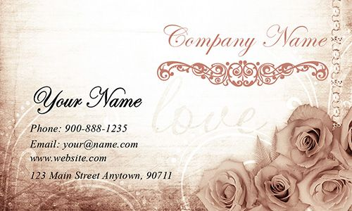Traditional Wedding Business Cards Event Planner Business Card Wedding Planner Business Event Planning Business Cards