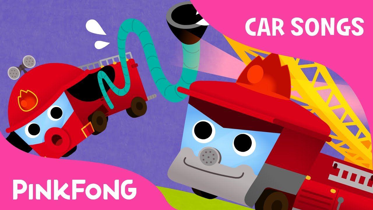 fire truck song | car songs | pinkfong songs for children | calming