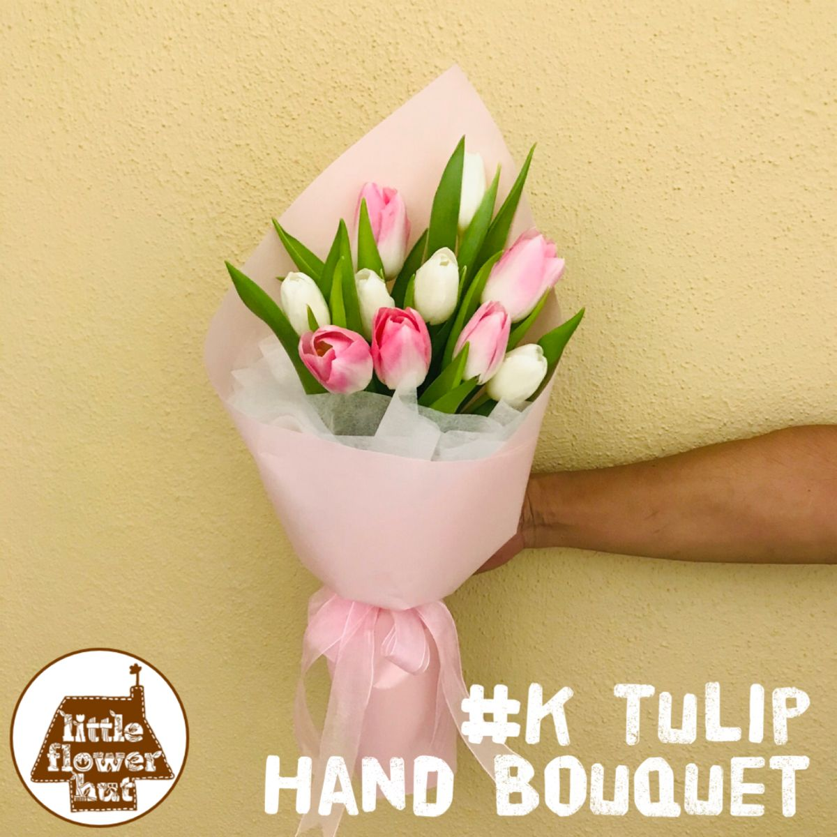 Premium Quality Hand Bouquet Singapore In 2020 White Tulip Bouquet Flowers Bouquet Bouquet