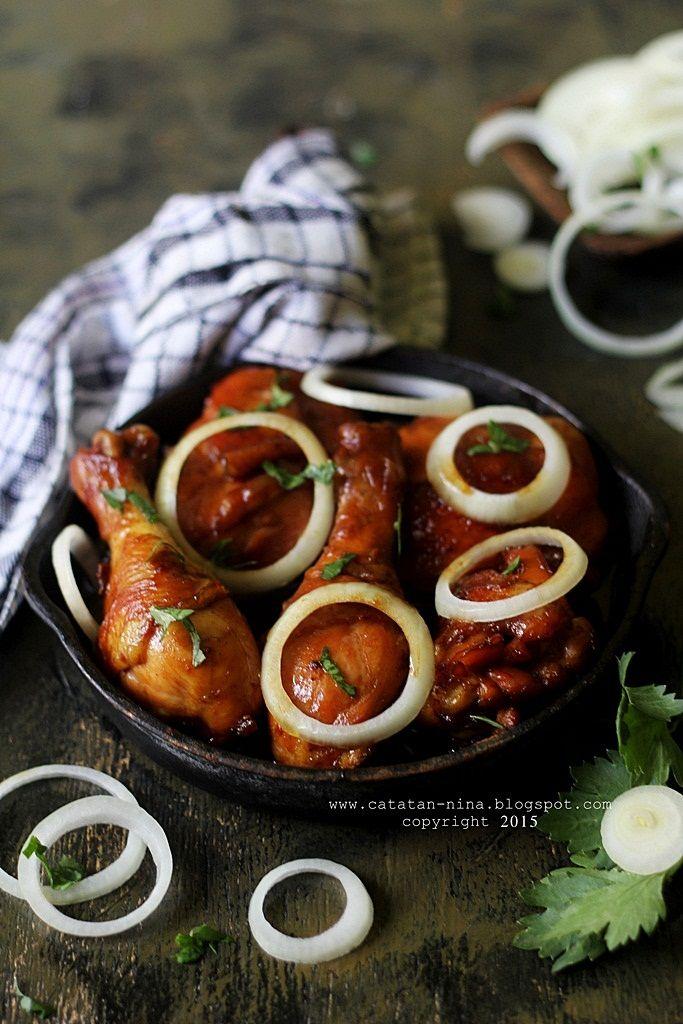 Catatan Nina Ayam Panggang Mentega Ayam Panggang Resep Makanan Memasak