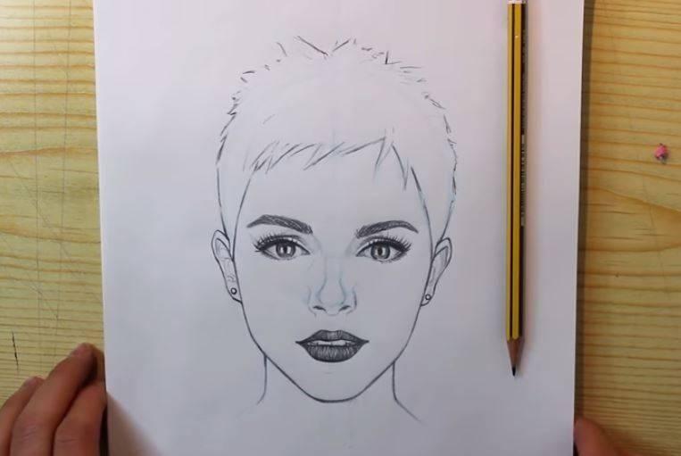 Aprende Como Dibujar Retratos Paso A Paso Guia Unica Videos Manualidades Como Dibujar Retratos Como Dibujar Como Hacer Un Autorretrato