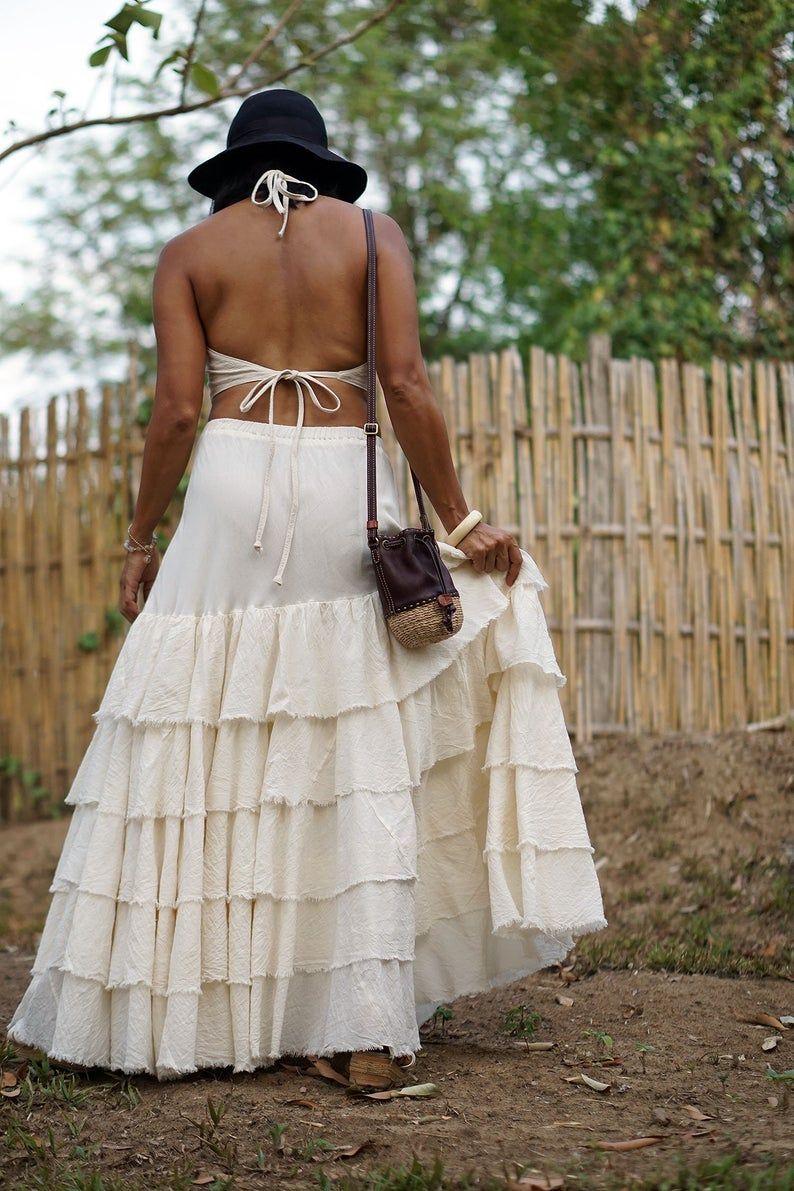 Long skirt Rockabilly skirt Maxi skirt Pin up skirt Boho skirt Festival Hippie skirt Mermaid skirt Taffeta skirt Formal skirt Prom gown Boho
