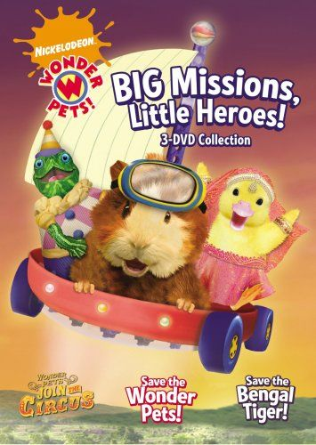 Wonder Pets Big Missions Little Heroes Paramount Home Video