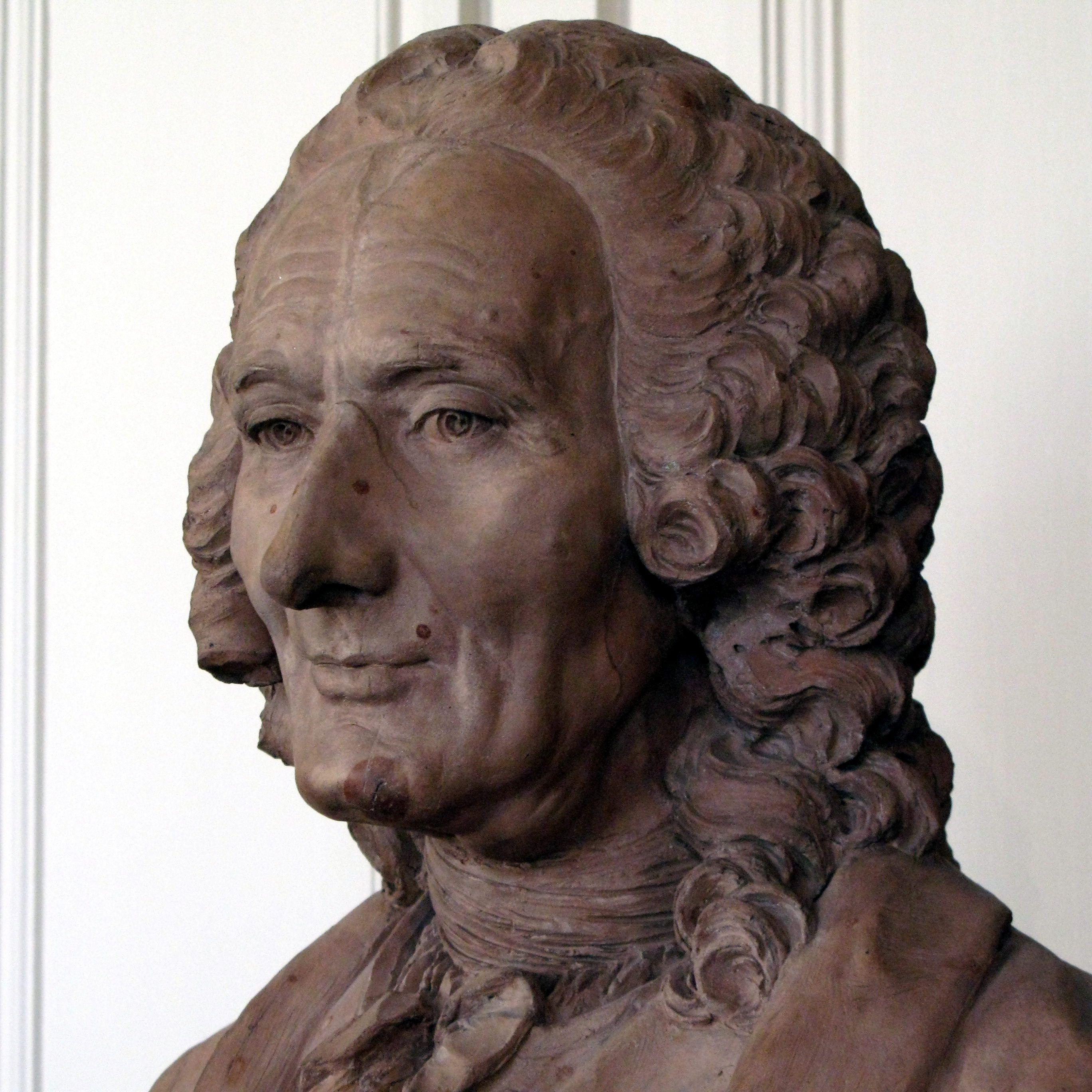 Bust of Rameau by Caffieri, 1760