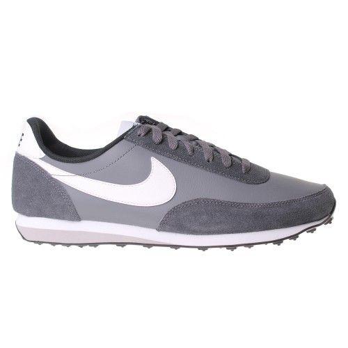 d96af8461120d NIKE Elite Leather Trainer Mens - Dark Grey   White - The Nike Elite Leather  Men s