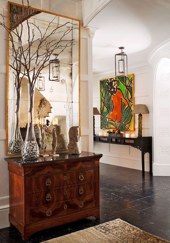 The Mix Of Modern With Antiques, For Interiors With Inspiring Decoration  Ambiances ! Le Mélange. Entry StairsEntrance ...