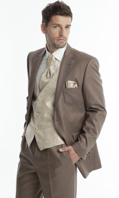 Costume homme pr t porter chemise gilet et cravate homme nice salon du mariage - Costume homme pret a porter ...