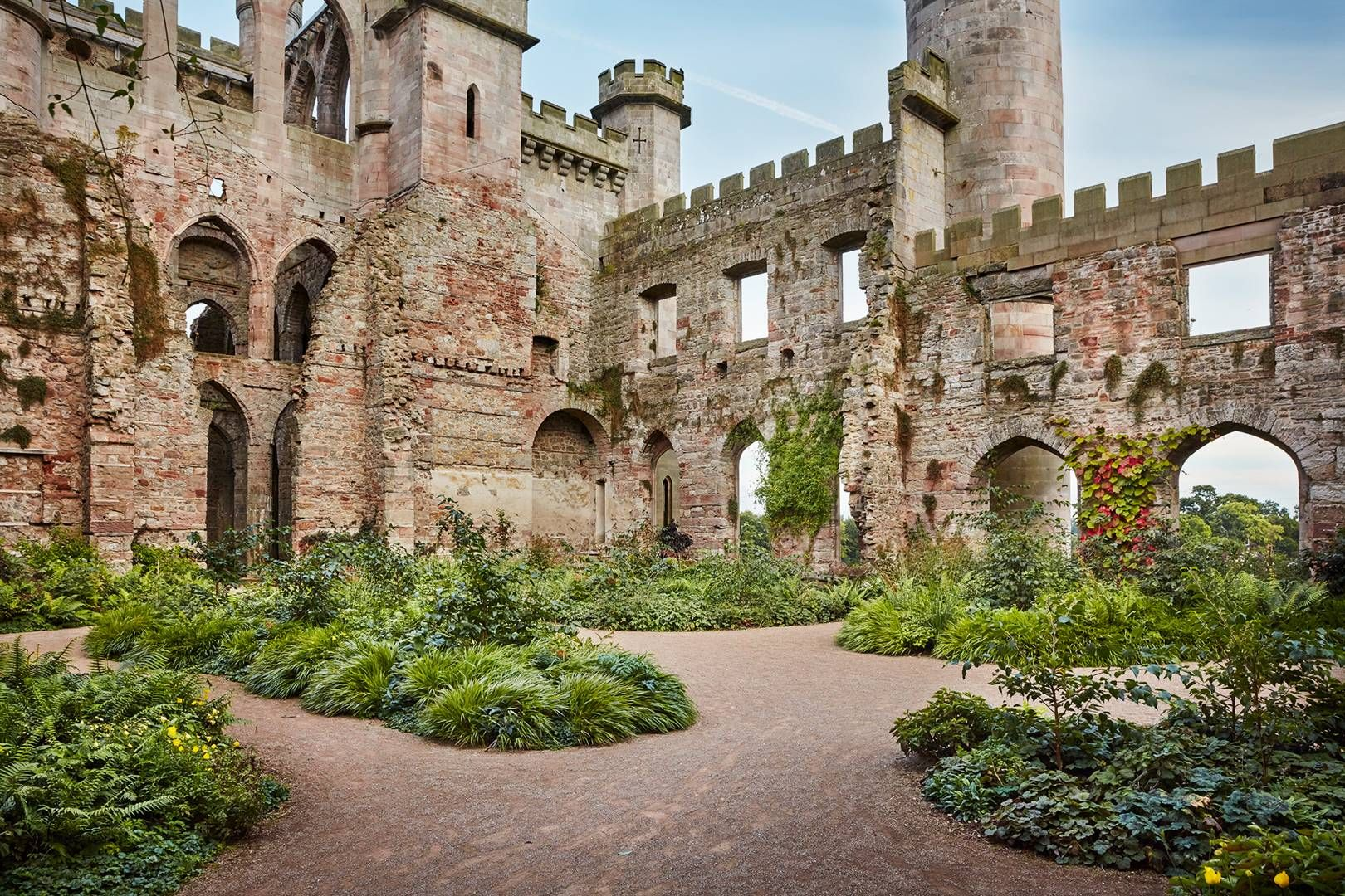 The enchanting gardens of Lowther Castle in Cumbria | Frivolous ...