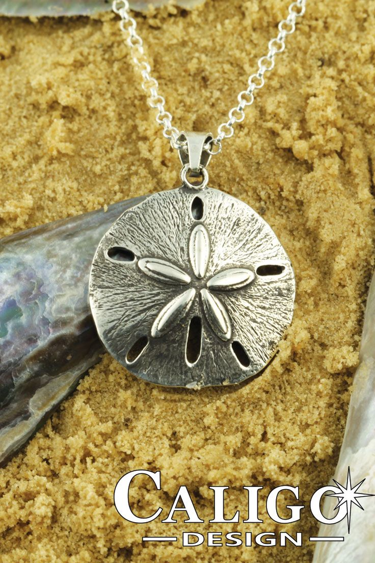 Silver sand dollar pendant necklace sterling silver 925 includes a silver sand dollar pendant necklace sterling silver 925 includes a sterling silver chain 80 aloadofball Image collections