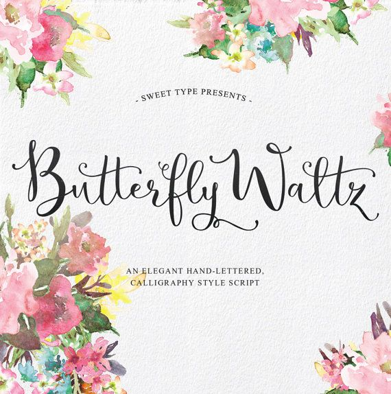 Hey, I found this really awesome Etsy listing at https://www.etsy.com/listing/235353780/butterfly-waltz-hand-lettered