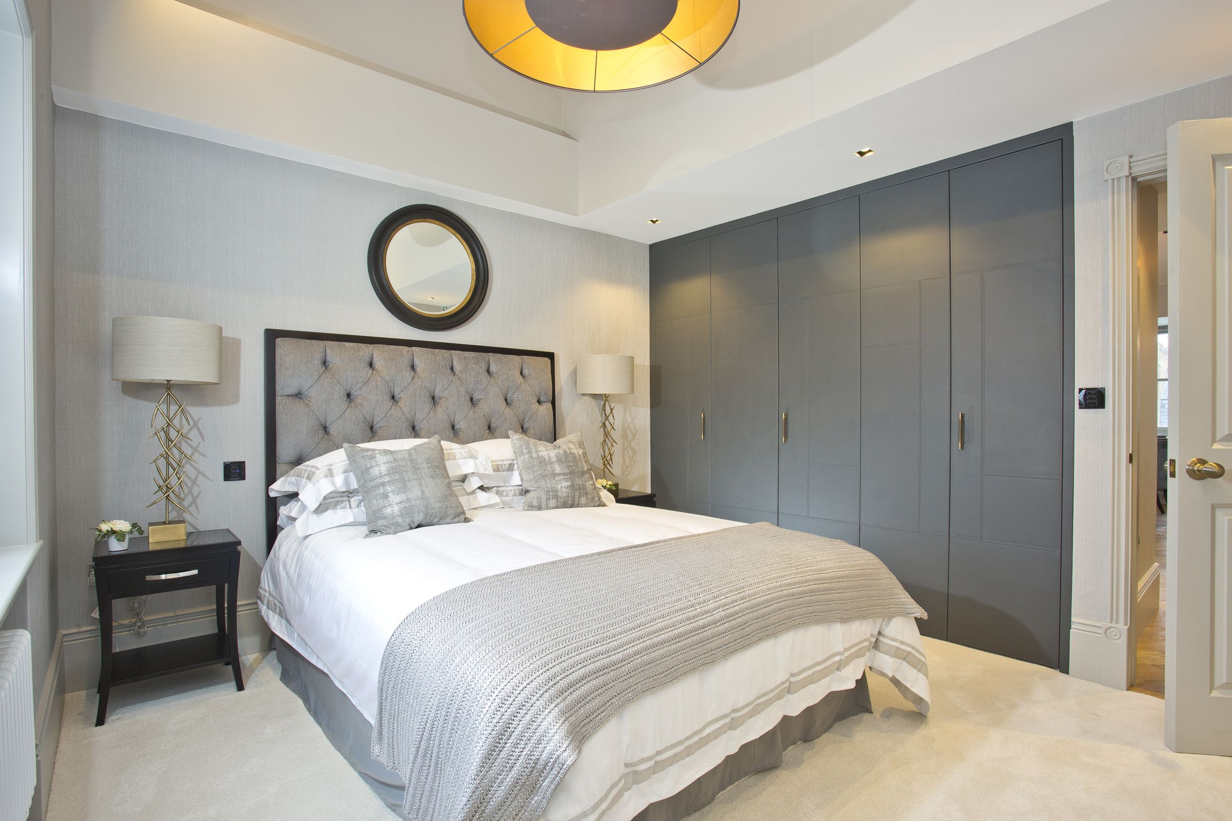 Chelsea Apartments - Master Bedroom by Mood London # ...