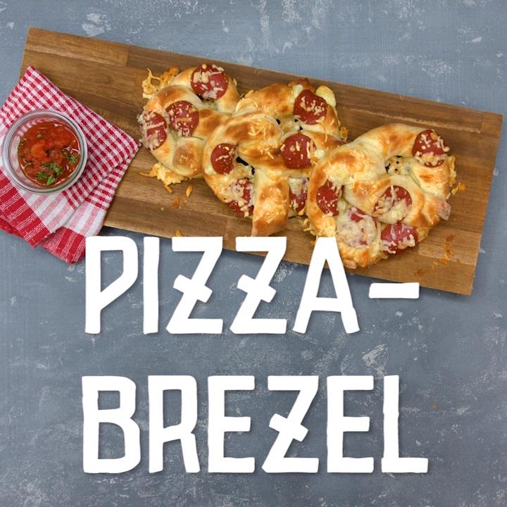 Photo of Pizza-Brezel mit Mozzarella | Chefkoch.de Video