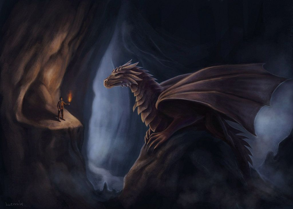 Chained dragon by Luerro on deviantART